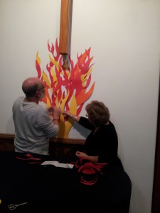 Decorating for Pentecost