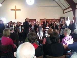 Heaven Bent Choir at St AIdans