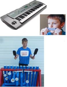 Composite Picture of Instruments